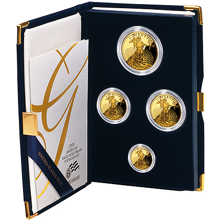 2008 Gold Eagle - Proof Four-Coin Set