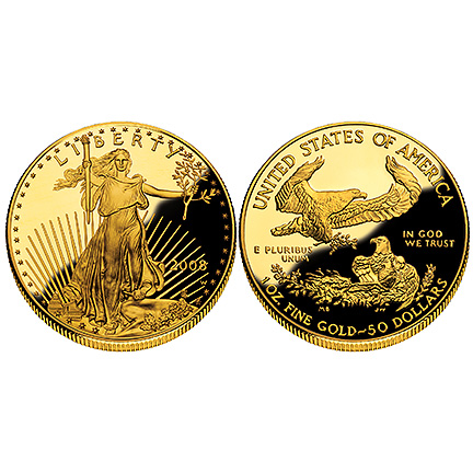 2008 Gold Eagle - One Ounce Proof Coin