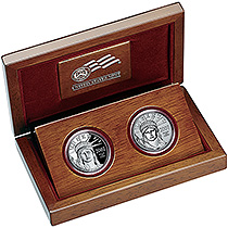 2007 Platinum Eagle - 10th Anniversary Two-Coin Set